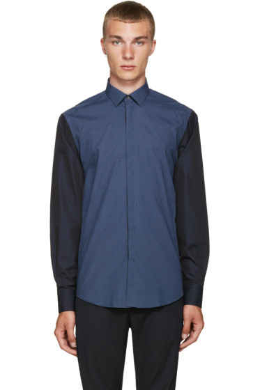 Lanvin - Blue Check Shirt