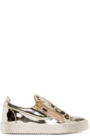 Giuseppe Zanotti - Gold London Sneakers
