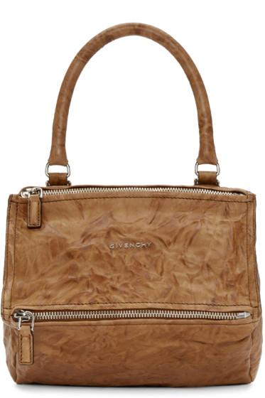 Givenchy - Tan Small Pandora Bag