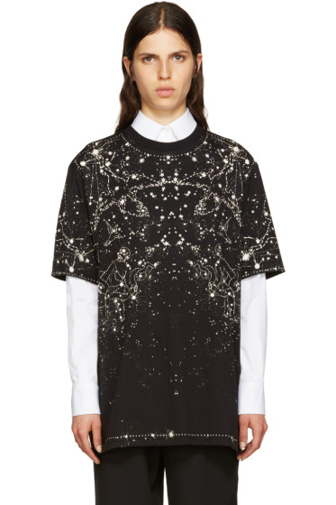 Givenchy - Black Constellation T-Shirt