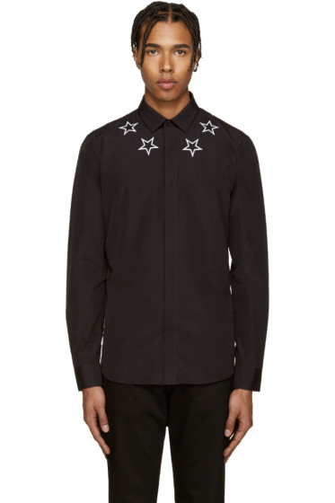 Givenchy - Black Stars Shirt