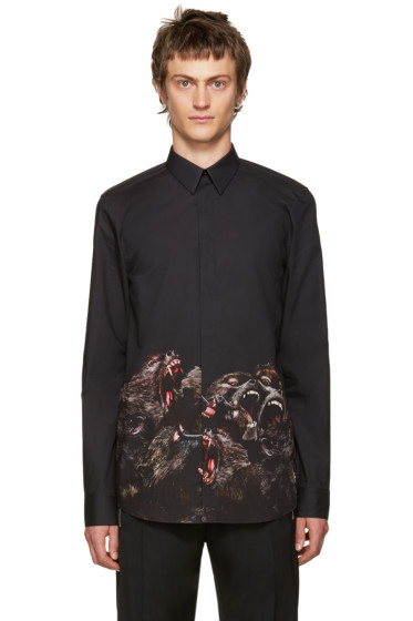 Givenchy - Black Monkey Brothers Shirt