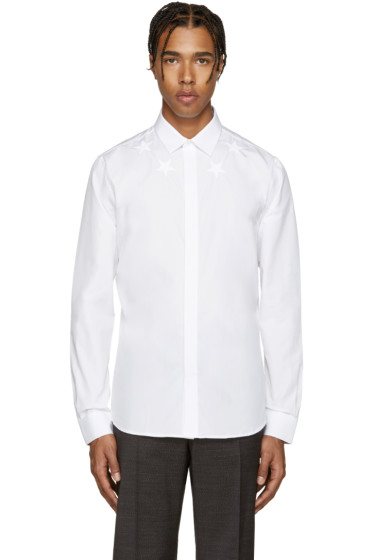 Givenchy - White Stars Shirt