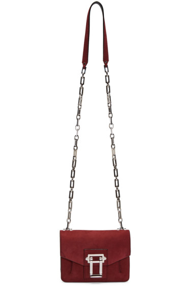 Proenza Schouler - Burgundy Nubuck Hava Shoulder Bag