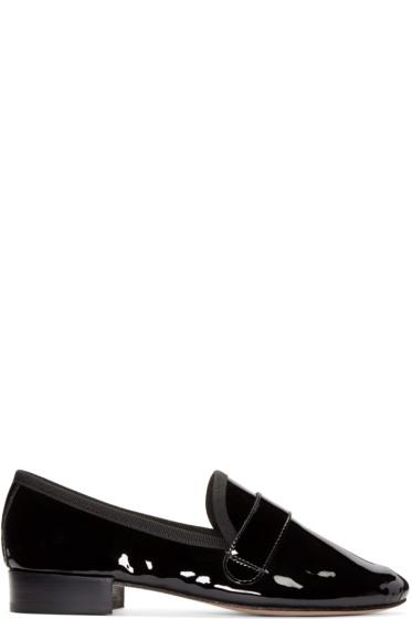 Repetto - Black Patent Michael Loafers