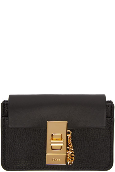 Chloé - Black Drew Card Holder