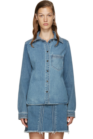 Chloé - Blue Denim Shirt