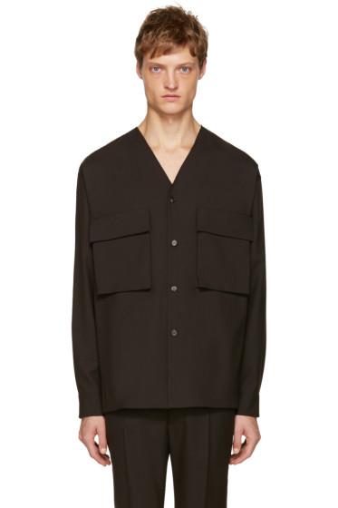 Marni - Brown Double Pocket Shirt