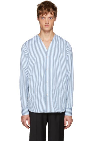 Marni - Blue & White Striped Shirt