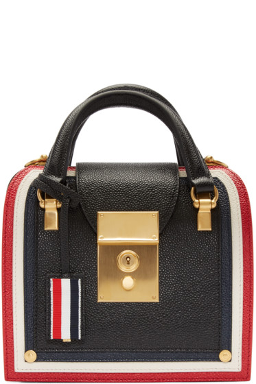 Thom Browne - Black Mini Mrs Thom Duffle Bag
