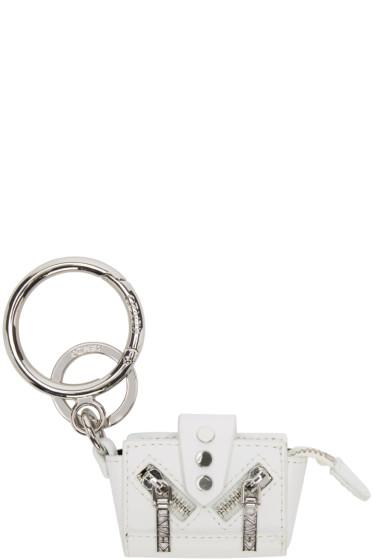 Kenzo - White Kalifornia Tote Keychain
