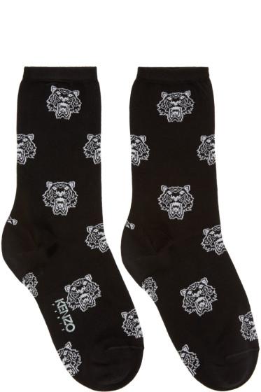 Kenzo - Black Tiger Socks