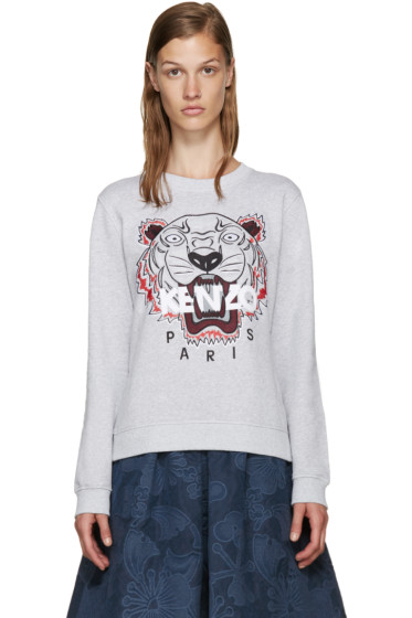 Kenzo - Grey Tiger Pullover