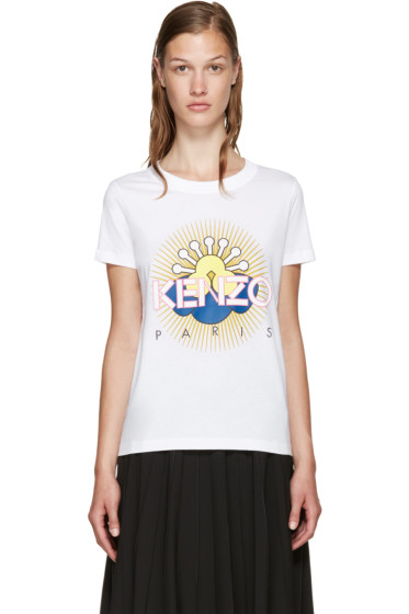 Kenzo - White Tanami Flower T-Shirt