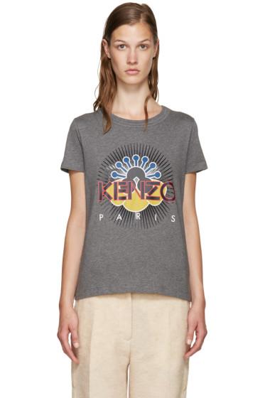 Kenzo - Grey Tanami Flower T-Shirt