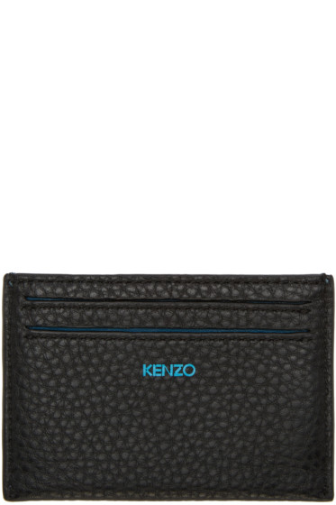 Kenzo - Blue Printed Card Holder