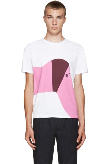 Kenzo - White Graphic T-Shirt