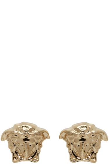 Versace - Gold Medusa Earrings