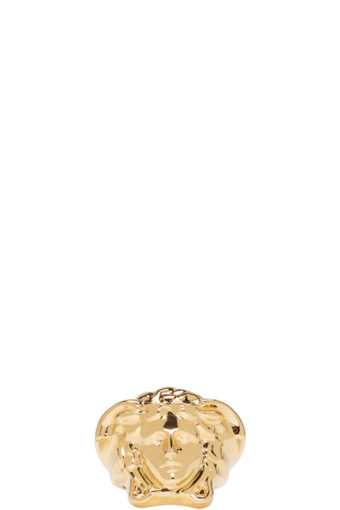 Versace - Gold Medusa Ring