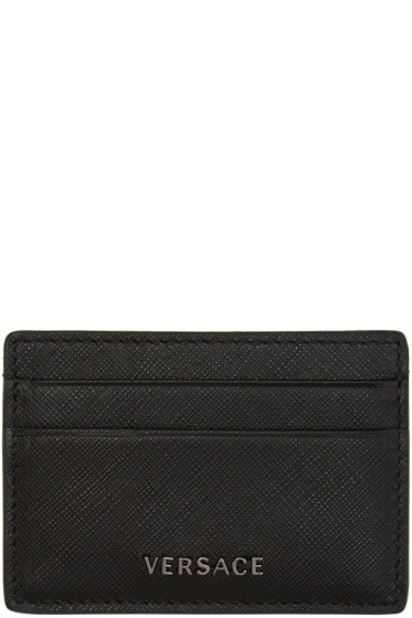 Versace - Black Medusa Card Holder