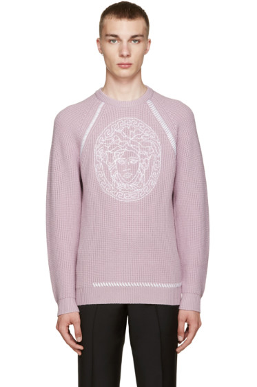 Versace - Purple Medusa Sweater