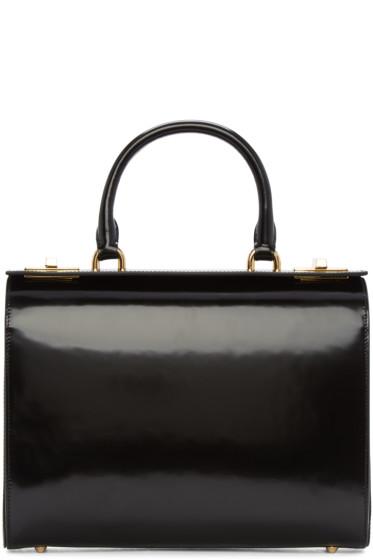 Simone Rocha - Black Top Handle Box Bag