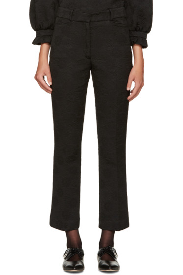 Simone Rocha - Black Flared Trousers