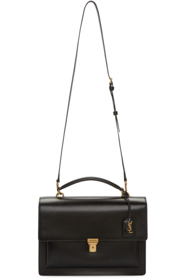 Saint Laurent - Black Large High School Satchel