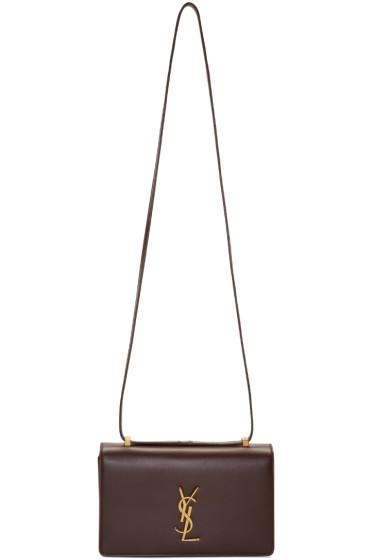 Saint Laurent - Burgundy Small Dylan Monogram Bag