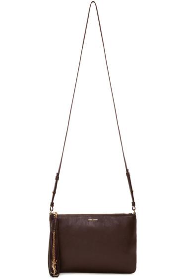 Saint Laurent - Burgundy Monogram Teen Bag