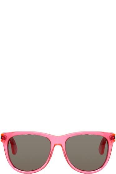 Saint Laurent - Pink SL 101 Surf Sunglasses