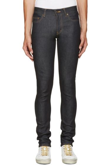 Saint Laurent - Blue Raw Denim Jeans