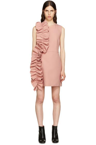 MSGM - Pink Ruffle Dress