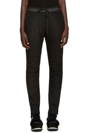 Sacai - Navy Knit Back Lounge Pants