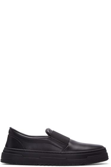 Valentino - Black Strap Sneakers