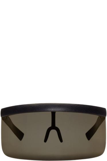 Mykita - Black & Gold Bernhard Willhelm Edition Daisuke Sunglasses