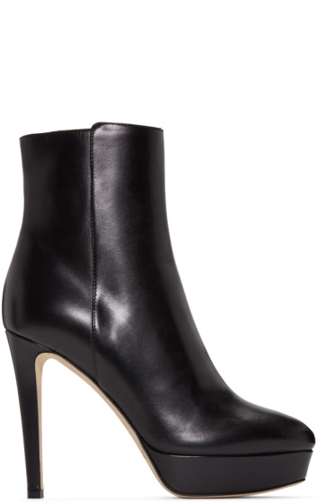 Jimmy Choo - Black Maggie Boots