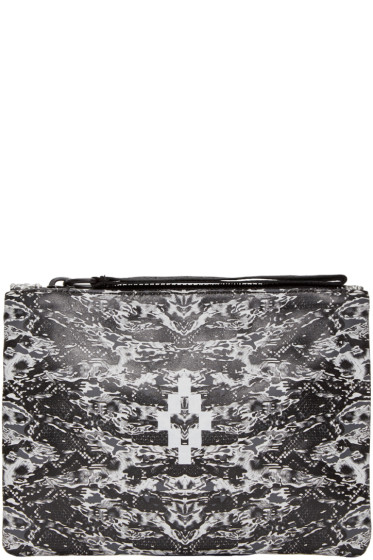 Marcelo Burlon County of Milan - Black & White Liaima Pouch