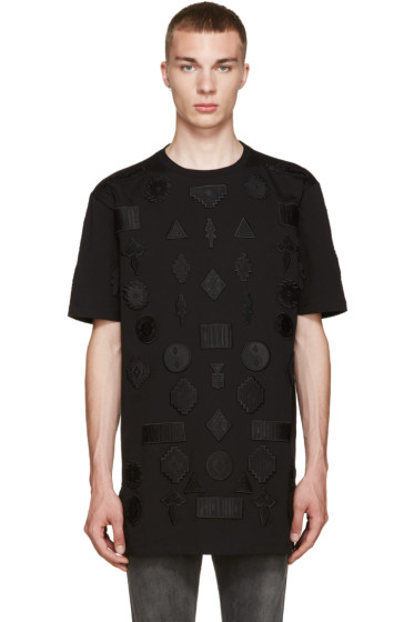 Marcelo Burlon County of Milan - Black Peteroa T-Shirt