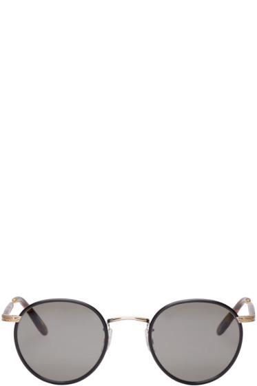 Garrett Leight - Black & Tortoiseshell Wilson Sunglasses