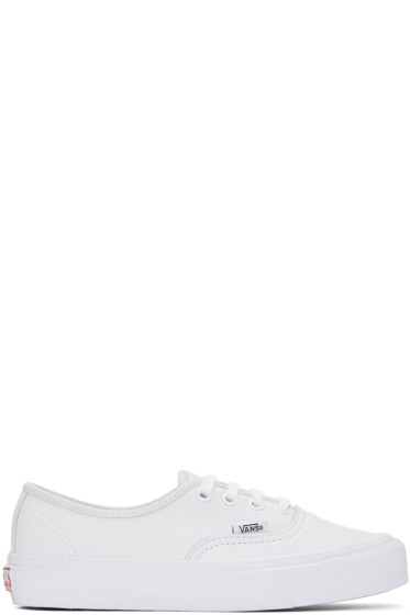Vans - White OG Authentic LX Sneakers