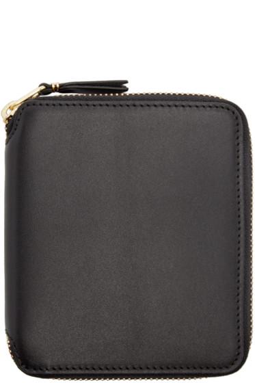 Comme des Garçons Wallets - Black Leather Line 125 Wallet