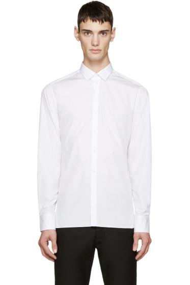 Lanvin - White Poplin Shirt