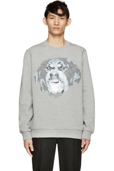 Givenchy - Grey Rottweiler Sweatshirt