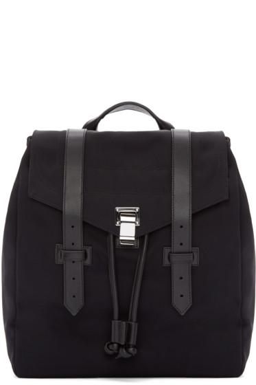 Proenza Schouler - Black Nylon PS1 Backpack