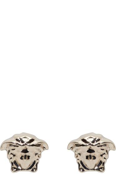 Versace - Gold Medusa Stud Earrings