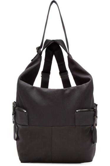 Côte & Ciel - Black Medium Ganges Alias Backpack