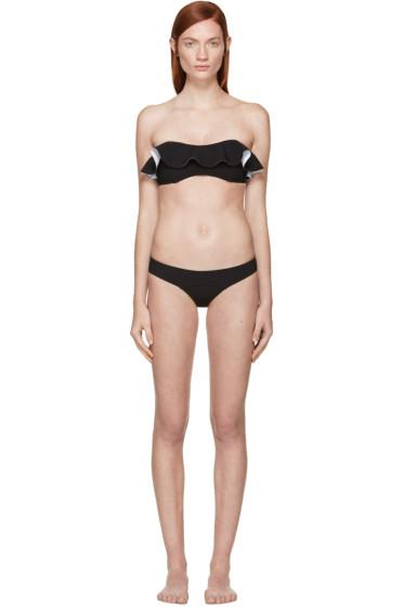 Lisa Marie Fernandez - Black Bandeau Natalie Bikini