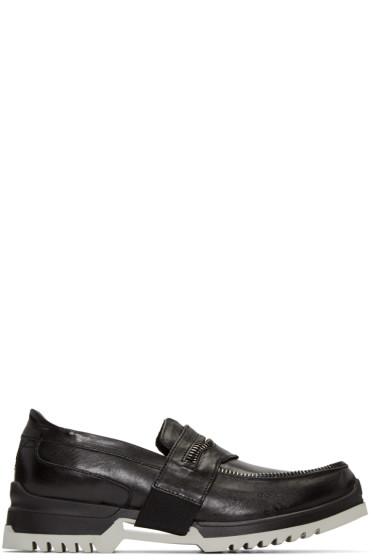 Diesel - Black D-Whiper Loafers