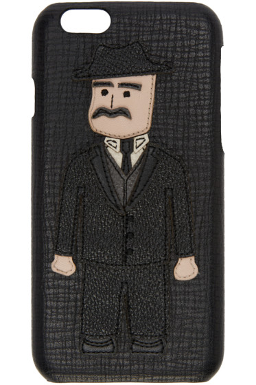 Dolce & Gabbana - Black Sicilian Man iPhone 6 Case